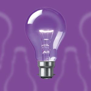 Clear Glass Ordinary Bulbs