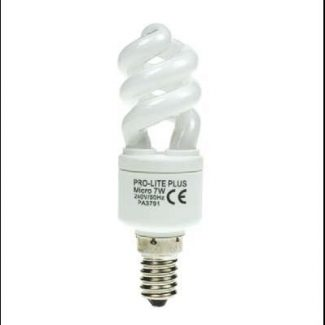 Micro Helix Fluorescent Low Energy Bulbs